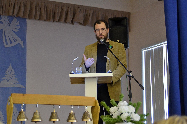 Доклад Антона Кабанова