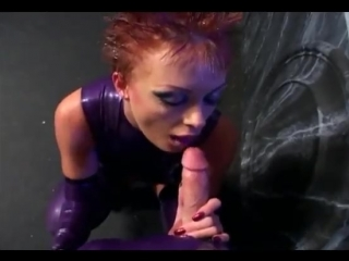Fetish sex in latex lingerie and stilettoes [latex porn girl fetish латекс порно фетиш]