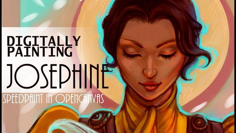 SPEEDPAINTING of Sophie (Dragon Age inquisition fanart)