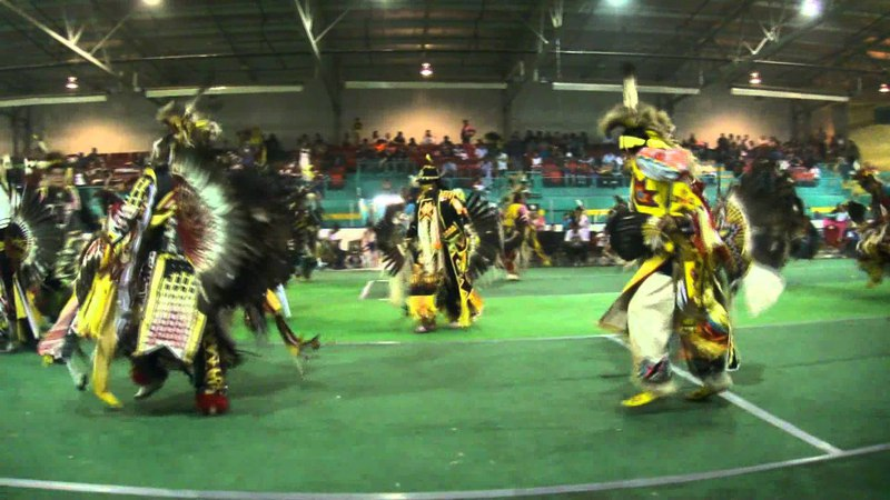 Loon Lake Powwow 2011 Mens Traditional 2nd Song