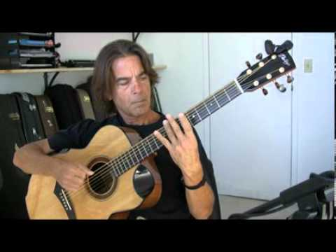 Michael Chapdelaine - 2000 Miles Gone - Video (solo fingerstyle guitar)