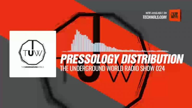 Techno music with @pressology Distribution - The Underground World Radio Show 024 Periscope