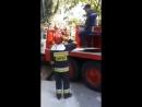 29.09.2017 Salvarea unei pisici de catre pompieri