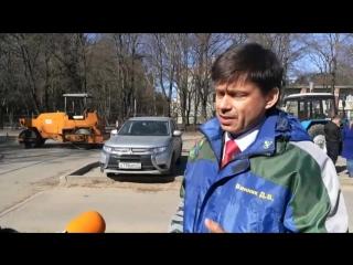 Даниил Винник - комментарии по поводу ремонта дорог в Сосновом Бору