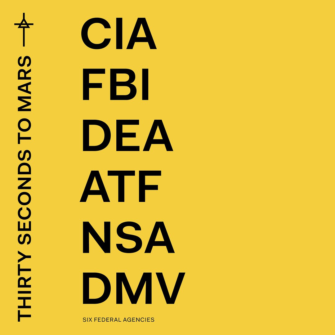 """Новый альбом 30 Seconds To Mars """"AMERICA"""" выйдет в начале апреля"""
