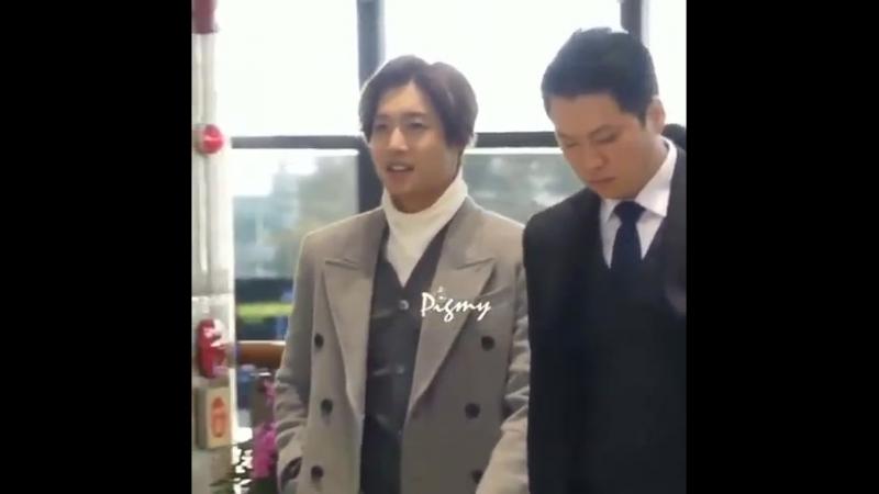 [2018.03.03] Kim Hyun Joong at Gimpo Airport Heading to Tokyo
