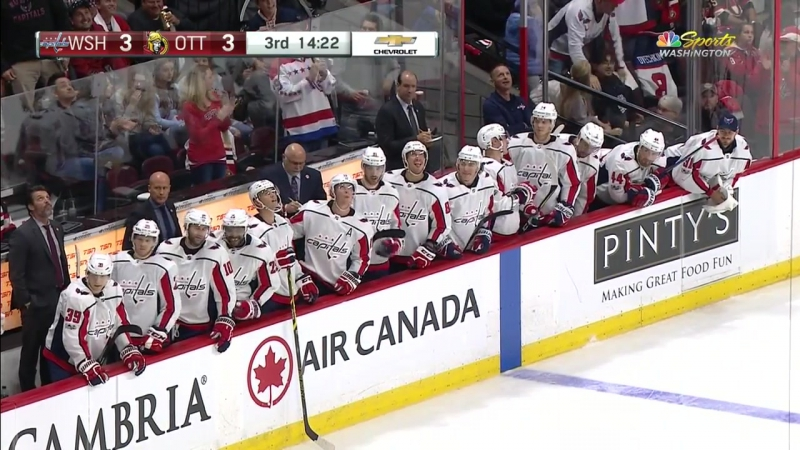 Овечкин в стартовой игре чемпионата НХЛ с «Оттавой» (5:4 Б) оформил хет-трик / Ovechkin needs only one period to record hat tric
