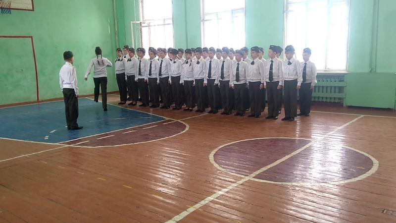 Смотр строя и песни, 5К, 39 школа, Вологда