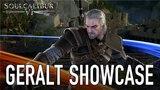SOULCALIBUR VI - PS4/XB1/PC - Geralt Showcase (Behind the scenes video)