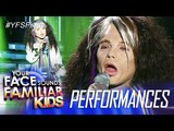 Your Face Sounds Familiar Kids Justin Alva as Steven Tyler - I Don't Wanna Miss A Thing