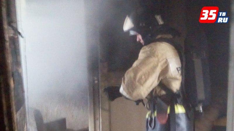 Пожилая череповчанка стала жертвой пожара в собственной квартире