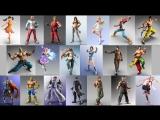 Tekken 7. Asuka, DV-турнир, рандомный мэш