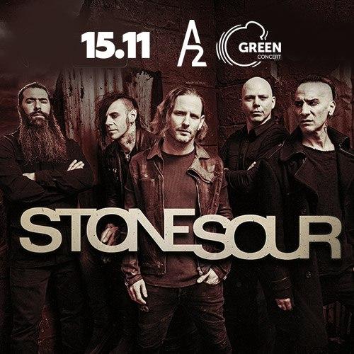 Афиша Москва Stone Sour / 15 ноября / A2 GreenConcert