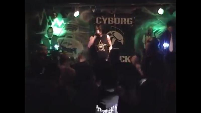 CYBORG ATTACK Alptraum Leben LIVE@EAC Club GER