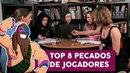 TOP 8 Piores Pecados de Jogadores de RPG Divã do Anão