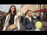 Санкт-Петербург, 24 сентября, 2017 . Заукраинский марш мира в Санкт-Петербурге