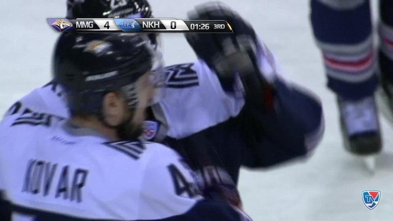 Моменты из матчей КХЛ сезона 14 15 Гол 5 0 Данис Зарипов Металлург Мг оказался первым на добивании и поразил нижний угол 3