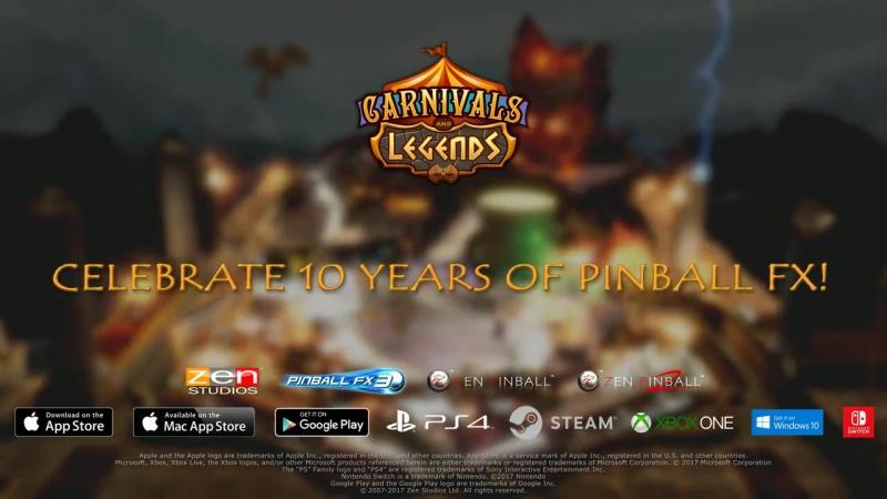 Набор из двух столов Carnivals and Legend для игры Pinball FX3!