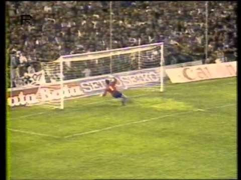 Стяуа - Барселона (Кубок европейских чемпионов 1985-1986, финал). Русский комментатор