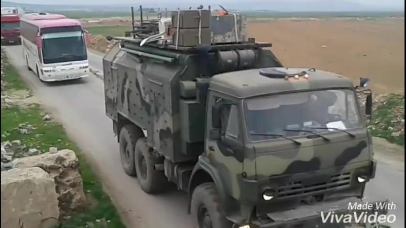 Tiger forces отправляются на фронт в Восточную Гуту в Дамаск