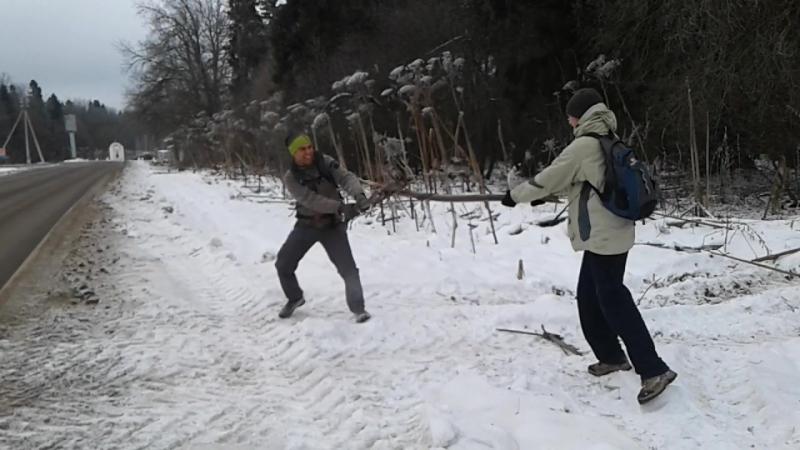 Рыцарский борщевой бой