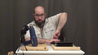 Пресс для изготовления пластиковых ножен. Часть 2 (делаем подвес для складного ножа без клипсы)