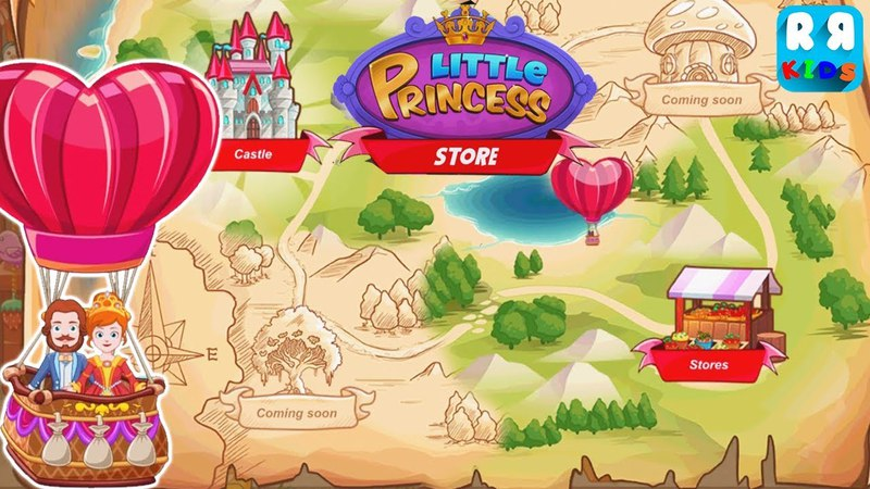 My Little Princess Stores - Now You Can Fly to The Castle with Hot Air Balloon