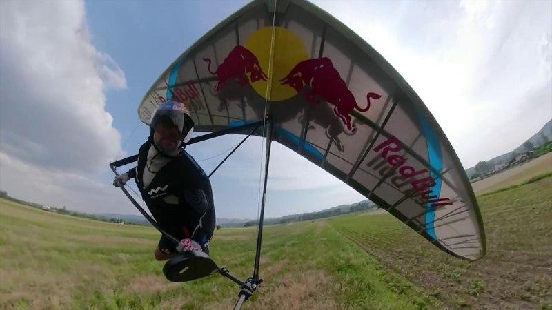 GoPro Fusion Hang gliding