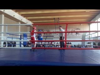 XI традиционный турнир по боксу на призы АО «Карельский окатыш», посвященный 35-летию г. Костомукши. Хлыстко
