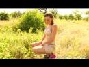 Jo Evans outdoors striptease 2