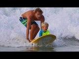 Cерф каникулы папы с сыном в Мексике. Surf trip in Mexico.