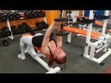 Супер тренировка на грудные мышцы и задние дельты