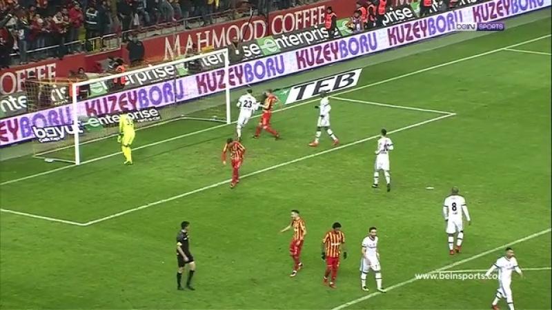 Lig Özetleri 2017 2018 Sezonu 15 Hafta Kayserispor 1 1 Beşiktaş