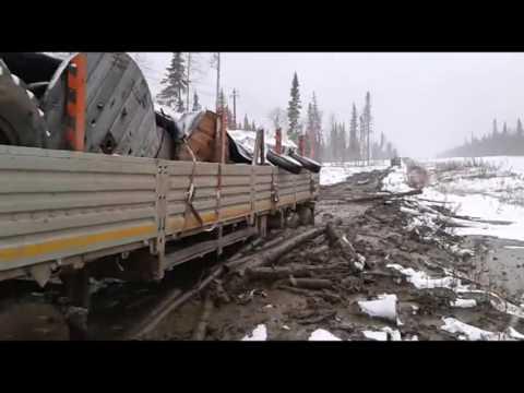 Уралы идут по зимнику