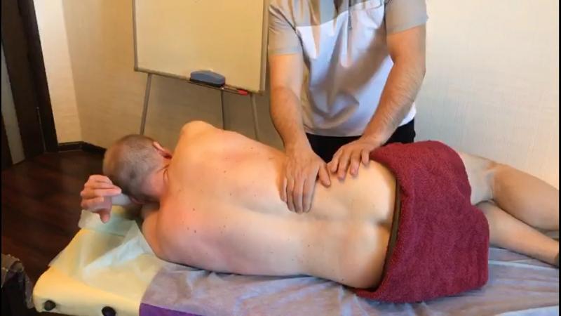 Спортивный массаж. Часть 3.