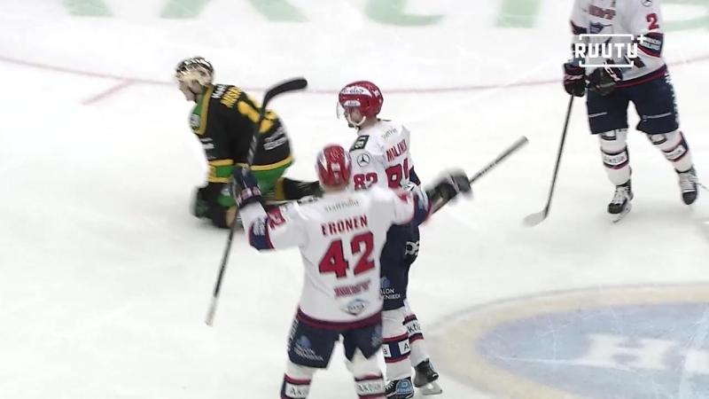 Ilves - HIFK 2:1 (Обзор матча) Финский Хоккей╞╬═╡Suomen Jääkiekko