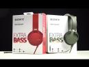 Обор наушников Sony XB550AP Extra Bass