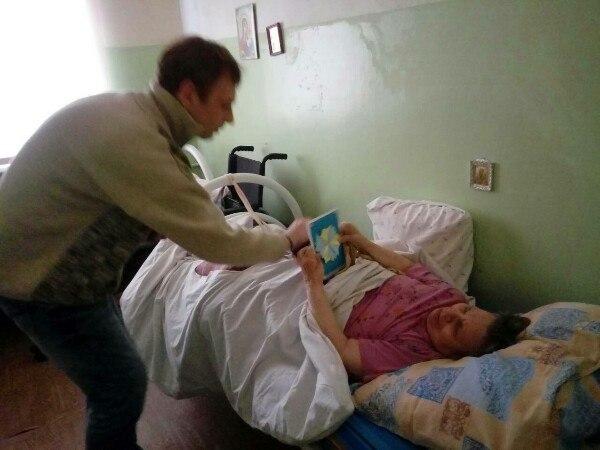 Территория добра поздравляла жителей Сормовского дома престарелых
