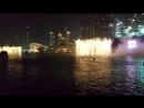 Танцующие фонтаны Dubai