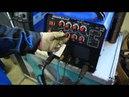 Сварка алюминия для начинающего сварщика Настройка Aurora InterTIG 200 AC DC PULSE cdfhrf lkz cdfhobrf yf