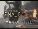 Daisy Johnson vs Graviton Man of Steel Style