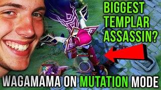 Wagamama Trying New WTF Mutation Mode, 1 SHOT = 1 KILL! - Best Templar Assassin with 28 Kills Dota 2