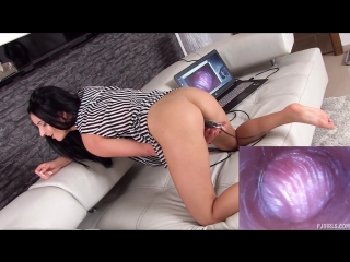 Влагалище изнутри. lucia denville - light at the end of tunnel (solo, posing, speculum, close ups, toys, pussycam)