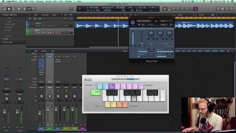 How to Create a Synth Sound out of Guitar with EQ, Tremolo, FilterFreak More