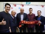 Встреча с главным тренером сборной России по футболу С.Черчесовым