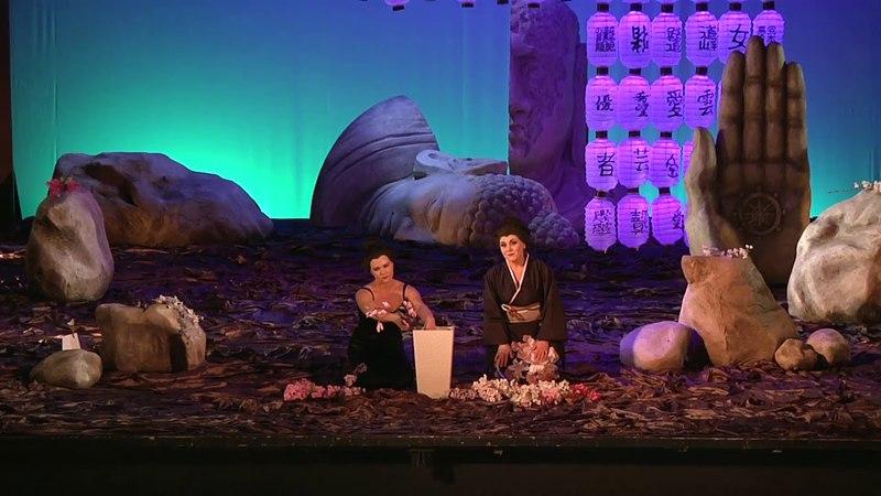 Olga Shurshina, Anna Dariyanova. Duetto di fiori (Puccini. Madama Butterfly)