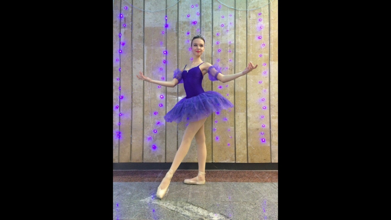 Фрагмент вариации Медоры из балета Корсар