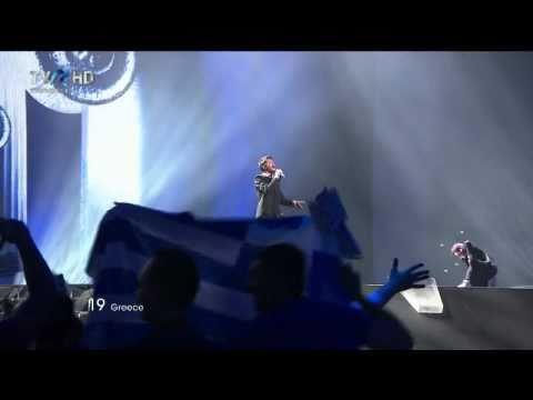 HD Eurovision 2011 Greece: Loucas Yiorkas feat. Stereo Mike - Watch My Dance (Semi-Final 1)