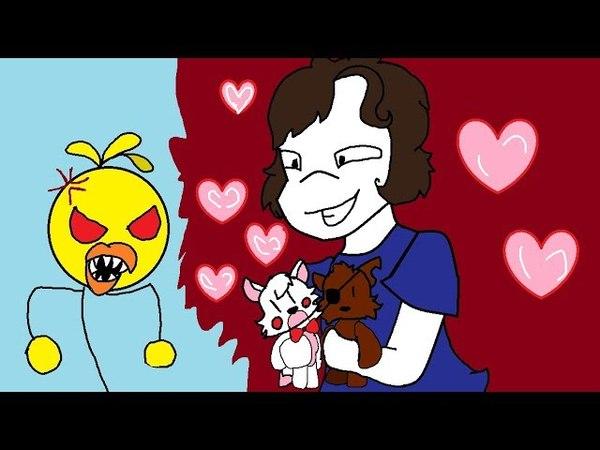 История любви Фокси и Мангл, или Чика не в духе