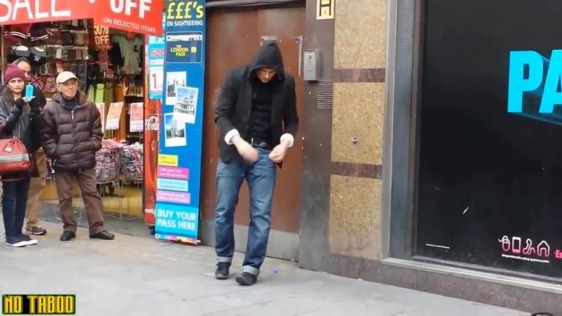 Топ 10 трюков и фокусов на улице. Видео прикол